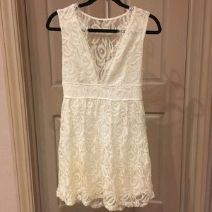 White Lace Dress, Graduation